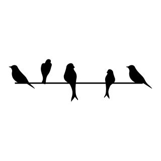 birds   wire wall quotes wall art decal wallquotescom