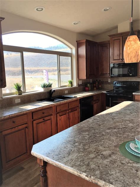 ceiling design kitchen manufactured homes home 2034