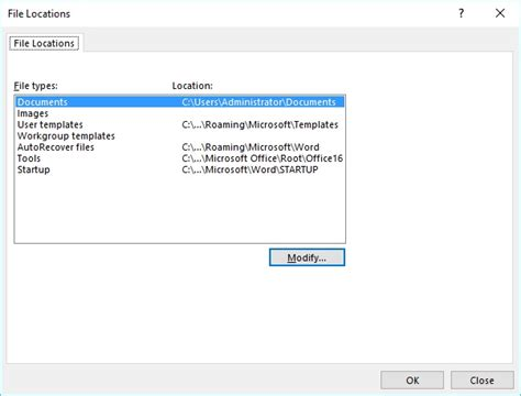 finding  templates  stored microsoft word
