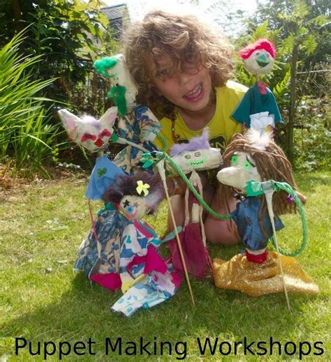 puppet stews puppet making parties  stirling glasgow