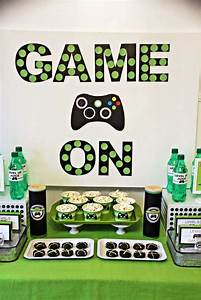 Xbox Birthday Party Ideas | Xbox, Birthdays and Video game ...