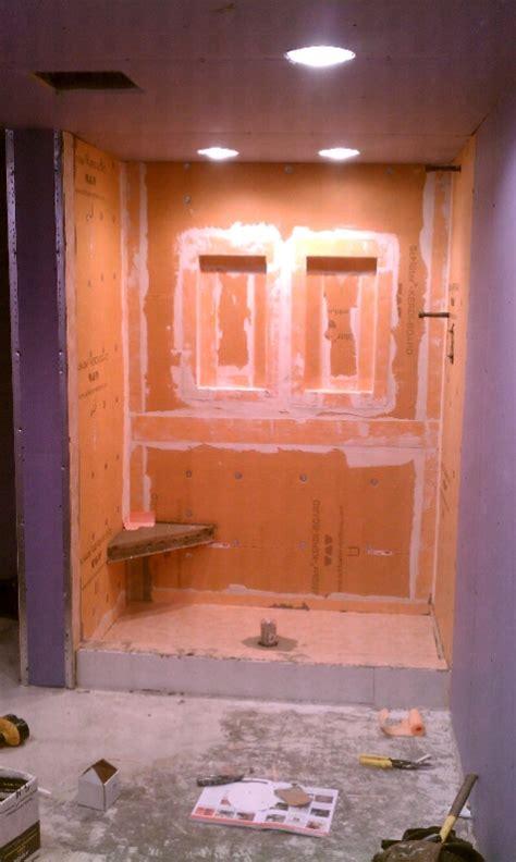 ready  start   schluter shower system