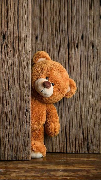 Teddy Bear Iphone Funny Backgrounds Brown Wallpapers