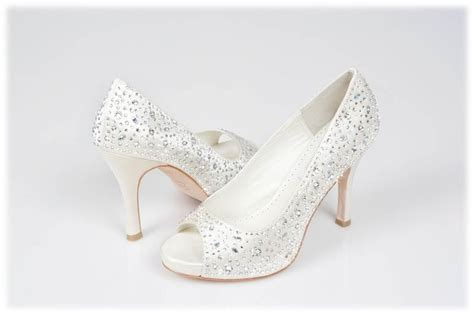 Swarovski Bridal Shoes Wedding Dress From Crystal Couture