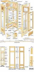 free woodworking plans curio cabinets Quick Woodworking
