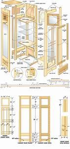 Mission curio clock woodworking plans - WoodShop Plans