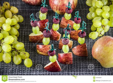 canape stock fruit canape stock photo image 44945097