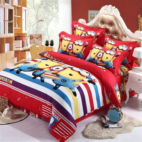 despicable me minion bedding set bed in bag minion