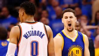 Conference Standings Nba by Klay Thompson Shoots Warriors Into Game 7 Golden State