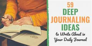 59 journaling ideas what to write about in a daily journal
