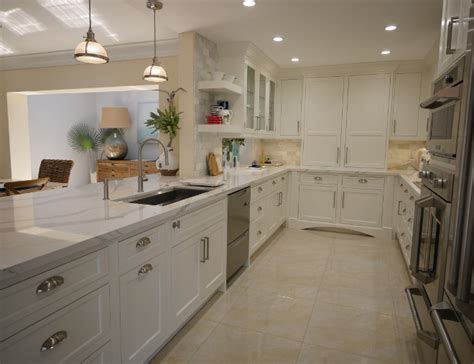 white kitchen  driftwood peninsula home bunch interior design ideas