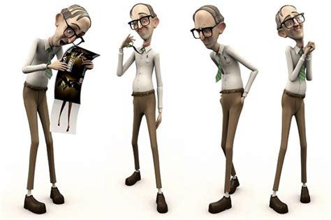 creative  beautiful  cartoon character designs