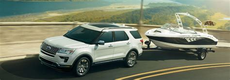 ford explorer  good suv  towing