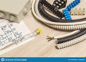 Kit Spare Parts And Wiring Diagram For Electrical Prepared