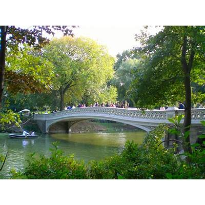 Bow Bridge reopens after repairs - NYC on the Cheap