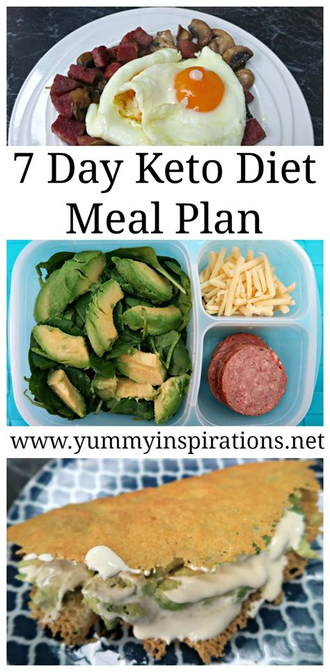 plan cuisine 7 day keto diet meal plan for weight loss ketogenic foods