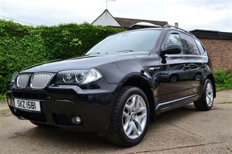 2006 Bmw X3 3.0 Sd M Sport Automatic Black Estate Diesel