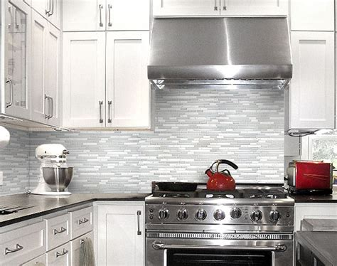 white tile backsplash grey kitchen backsplash glass tiles home design ideas