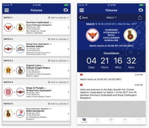 cricbuzz mobile top 7 cricket score mobile apps comparison features and