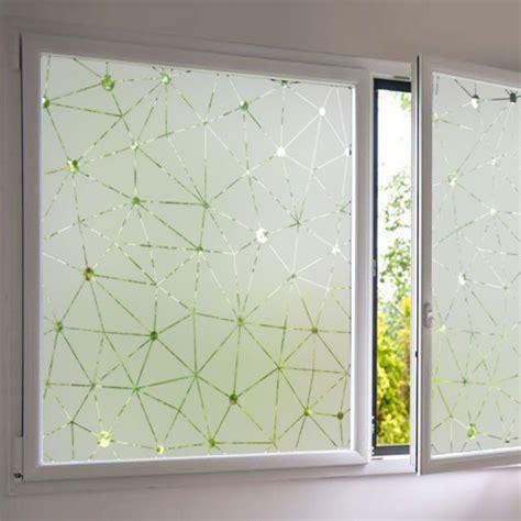 stickers pour fenetre cuisine sticker fenêtre occultant constellation dépoli pour