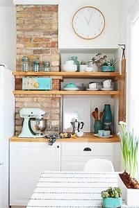 le rangement mural comment organiser bien la cuisine With amenagement mural cuisine