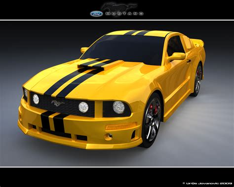 Ford Mustang Gt  3ds Max By Uros3d On Deviantart