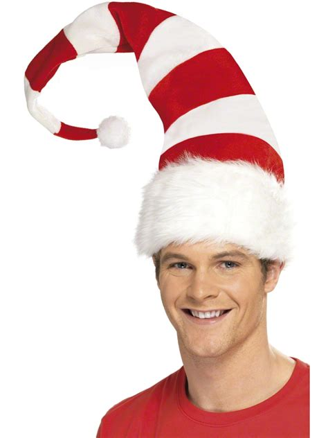 striped santa hat 38328 fancy dress ball