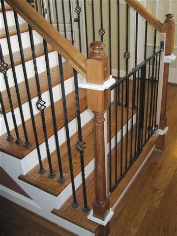 baby gates for bottom of stairs with banister pin by mountain laurel handrails on banisters baby gate