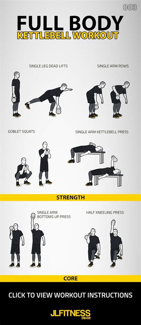 kettlebell body workout lower workouts upper exercises crossfit ab strength weight routines core jlfitnessmiami