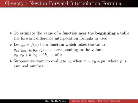 Interpolation In Numerical Method $ Www tokoonlineindonesia id