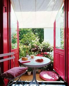 balkon pflanzen coole ideen fur eine grune entspannungsecke With balkon ideen sitzecke