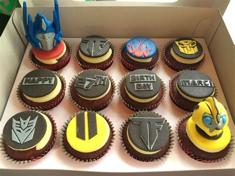 Best 25+ Transformers Cupcakes Ideas On Pinterest