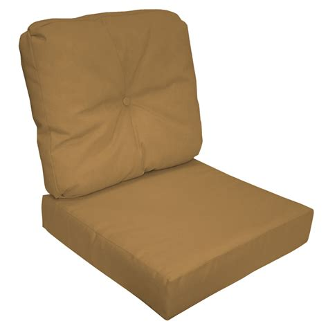 sunbrella 2 seat chair cushion set sunbrella