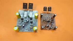 Amplifier Circuit Using 2sc5200 And 2sa1943  Amplifier