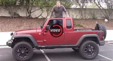 aftermarket jeep wrangler pickup  good carscoops