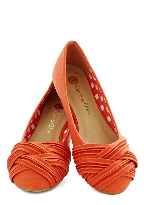 orange flat shoes wwwshoeratcom