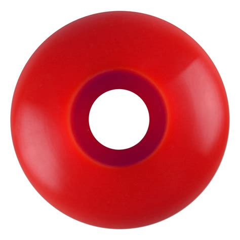 blank wheel mm red set   keystone skate supply