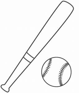 1000 ideas about bat coloring pages on pinterest With baseball bat template free