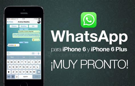 whatsapp iphone whatsapp for iphone 6