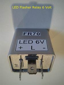 6v Led Flasher Relay 3 Pin Moped Motorcycle 6 Volt Turn