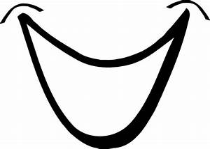 Smile Mouth Clipart Black And White | Clipart Panda - Free ...