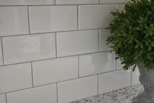 6 X 12 Beveled Subway Tile by Pretty Distressed The Great Remodel Kitchen Deets