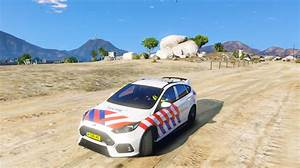 Ford Focus Rs 2017 Politie Skin  4k