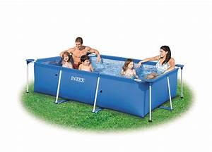 Piscine Hors Sol Rectangulaire Intex : piscine rectangulaire hors sol intex intex ~ Melissatoandfro.com Idées de Décoration