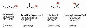 Alcohols  1   U2013 Nomenclature And Properties  U2014 Master