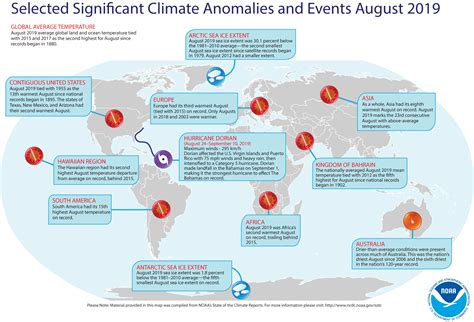global climate report august  state   climate