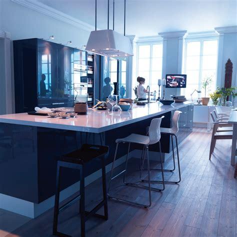 cuisine ouverte ikea zoom sur la tendance du living kitchen tendances déco déco