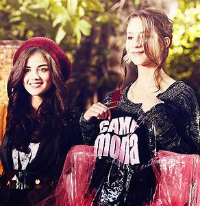 PLL Friends - Aria & Spencer - Charmed & Pretty Little ...