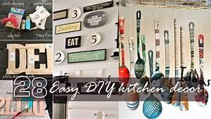 Easy DIY Kitchen Decor YouTube