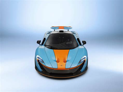Businessman Orders Mclaren P1 In Gulf Oil Racing Colors